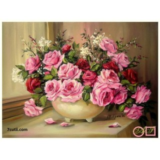 Goblen  de  diamante  Inspiratie roz