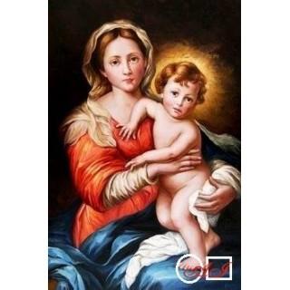 Goblen de diamante Madonna din Murillo