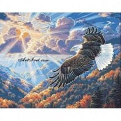 Pictura pe numere - Vulturul - stapanul vaii