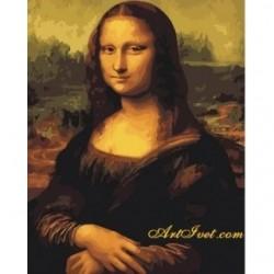 Pictura pe numere - Mona Lisa