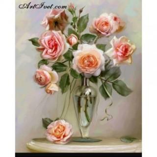 Pictura pe numere - Trandafiri