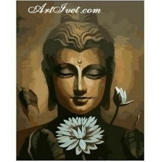 Pictura pe numere - Liniste cu Buda
