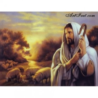 Pictura pe numere - Isus Pastorul nostru