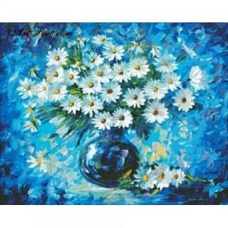 Pictura pe numere - Splendoare albastra