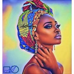 Goblen de diamante Frumusete africana