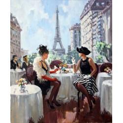 Pictura pe numere - Cafeneaua din Paris