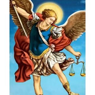 Pictura pe numere - Luptatorul celestial - Arhanghelul Mihail
