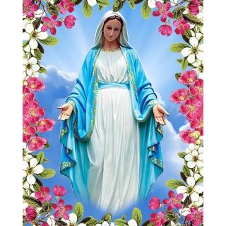 Pictura pe numere - Fecioara Maria - mirolul primaverii