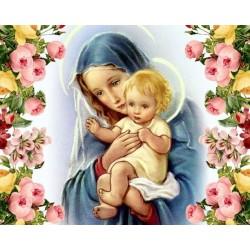 Pictura pe numere - Icoana - Iubirea mamei