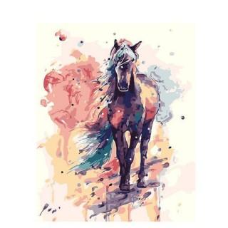Pictura pe numere - Calul din visele mele
