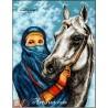 Goblen de diamante Frumoasa araboaica Salma